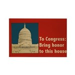 Congressional Honor Rectangle Magnet (100 pack)