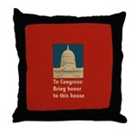 Congressional Honor Throw Pillow