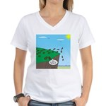 Lemming Individualists Women's V-Neck T-Shirt