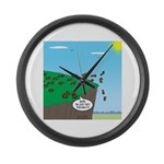 Lemming Individualists Large Wall Clock