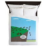 Lemming Individualists Queen Duvet