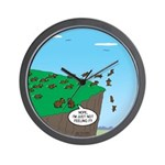Lemming Individualists Wall Clock