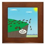 Lemming Individualists Framed Tile