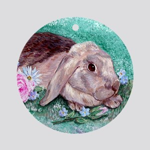 Maddison the Rabbit Keepsake (Round)