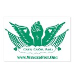 Winged Fist Postcards (Package of 8)