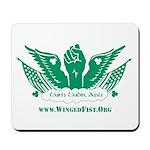 Winged Fist Mousepad