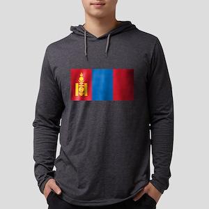 Flag of Mongolia Long Sleeve T-Shirt