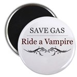 Save Gas Ride a Vampire Magnet