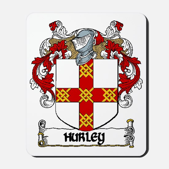 Hurley Coat of Arms Mousepad