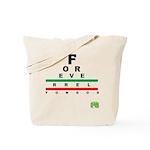 FROG eyechart Tote Bag
