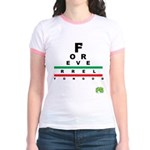 FROG eyechart Jr. Ringer T-Shirt