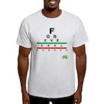 FROG eyechart Light T-Shirt