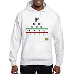 FROG eyechart Hooded Sweatshirt