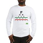 FROG eyechart Long Sleeve T-Shirt