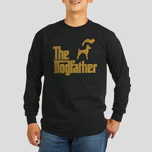 Toy Fox Terrier Long Sleeve Dark T-Shirt