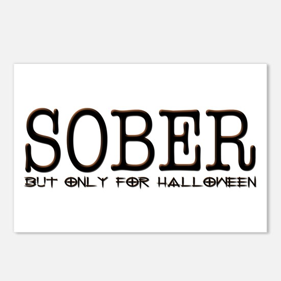 Sober (Halloween Only) Postcards (Package of 8)