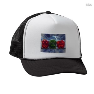 43dba70d4ee Pepper Kids Trucker Hats - CafePress