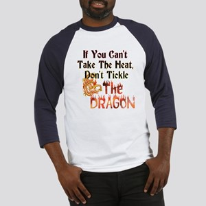 Don't tickle the Dragon Baseball Jersey