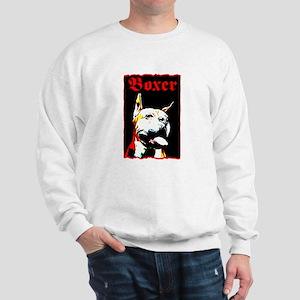 Boxer art Sweatshirt