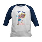 BIBLE CATS Kids Baseball Jersey