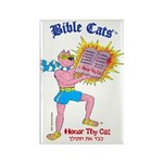 BIBLE CATS Rectangle Magnet