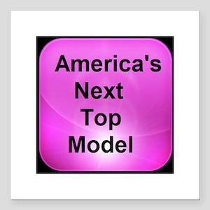 America's Next Top Model Square Car Magnet 3&q