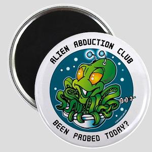 Alien Abduction Club Magnet