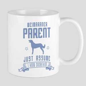 Weimaraner Long-Coated Mug