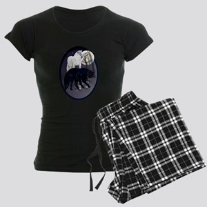 Two Wolves Pajamas