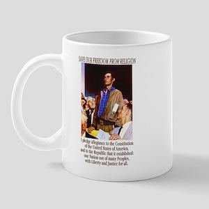 New Pledge of Allegiance Mug