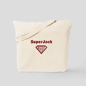 Super Hero Jack Tote Bag