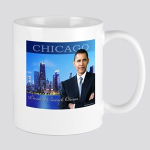 Chicago Obama Mug