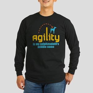 Xoloitzcuintli Long Sleeve Dark T-Shirt