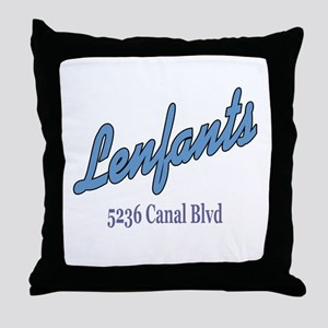 Lenfants Restaurant Throw Pillow