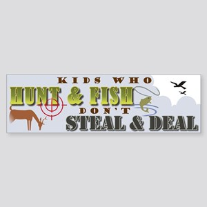 Kids Who Hunt... Bumper Sticker