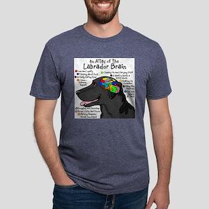 Black Lab Brain T-Shirt