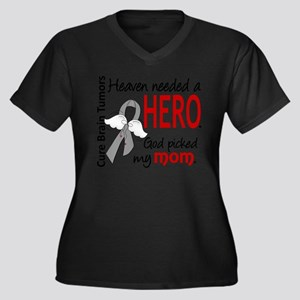 Brain Tumor H Plus Size T-Shirt