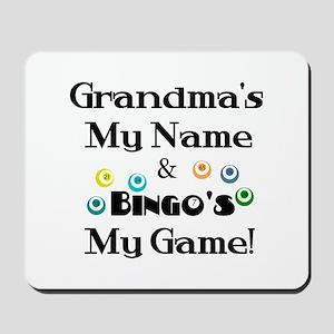 Grandma and Bingo Mousepad
