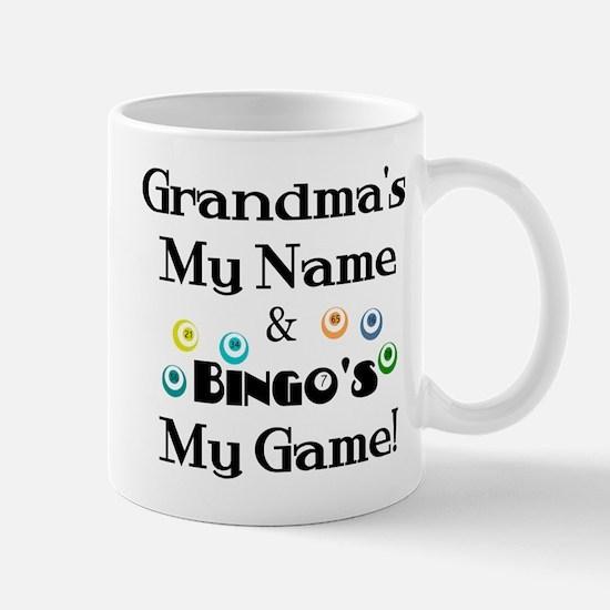 Grandma and Bingo Mug