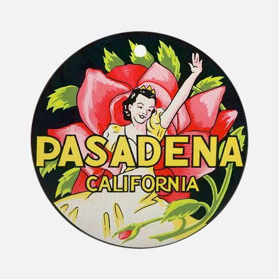 Pasadena California Keepsake (Round)