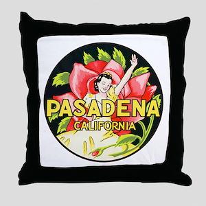 Pasadena California Throw Pillow