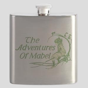 Vintage Adventures Of Mabel Flask