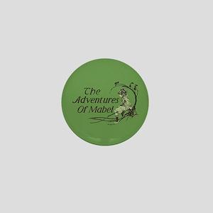 Vintage Adventures Of Mabel Mini Button