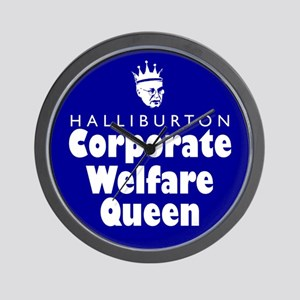 Corporate Welfare Queen. Wall Clock