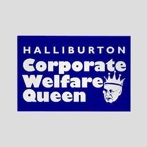 Corporate Welfare Queen. Rectangle Magnet