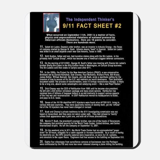 9/11 Conspiracy part 2 Mousepad