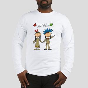 Native American Thanksgiving Long Sleeve T-Shirt