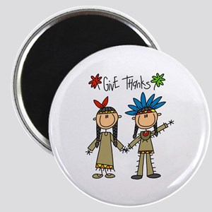 Native American Thanksgiving Magnet