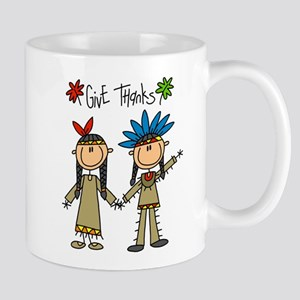 Native American Thanksgiving Mug