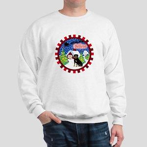 Believe Rottweiler Sweatshirt
